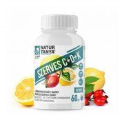 Natur Tanya szerves C+D+K vitamin 60 tabletta