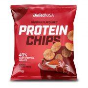 BioTechUSA PAPRIKA Protein Chips 25 g