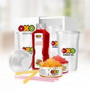 OXO Bubble Tea HOME csomag MÁLNA-EPER íz