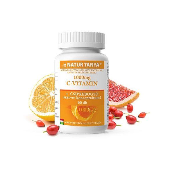 Natur Tanya Retard C-vitamin 1000 mg 60 db tabletta
