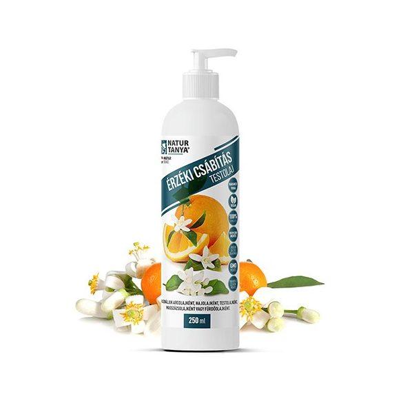 Natur Tanya Vegán érzéki csábítás testolaj narancsvirág illóolajjal 250 ml