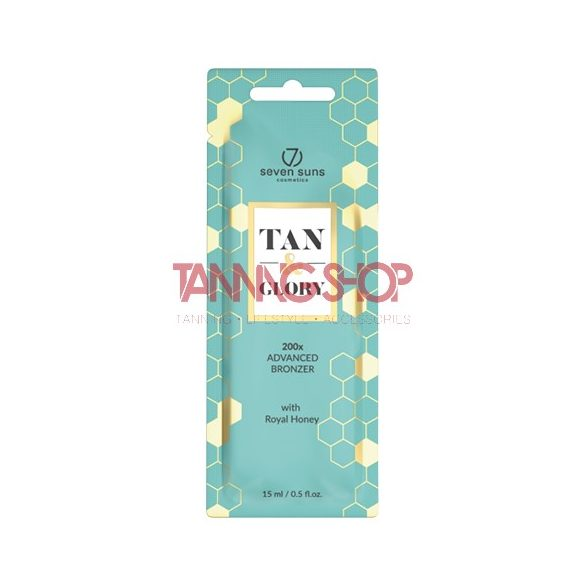 7suns TAN & GLORY Advanced Bronzer 15 ml [200X]