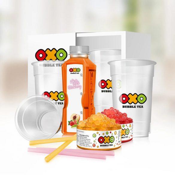 OXO Bubble Tea HOME csomag ŐSZIBARACK-EPER íz