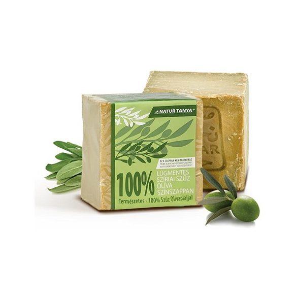 Natur Tanya lúgmentes, 100%-os aleppói szűz olíva színszappan 200 g
