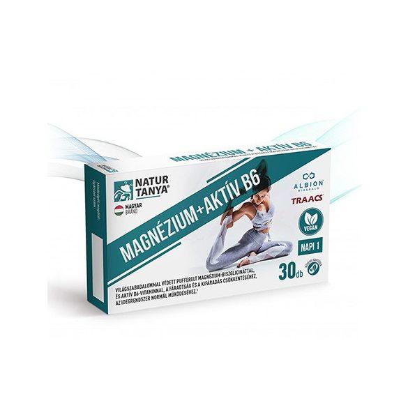Natur Tanya Vegán MAGNÉZIUM + AKTÍV B6 tabletta 30 db