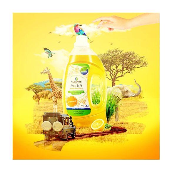 CLEANNE vegán AFRIKA ARANYA öblítő 1,5 liter