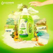 CLEANNE vegán KUBAI PEZSGÉS öblítő 1,5 liter
