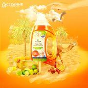 CLEANNE vegán MAROKKÓ VARÁZSA öblítő 1,5 liter