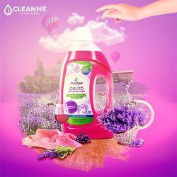 CLEANNE vegán PROVENCE MEZŐI öblítő 1,5 liter