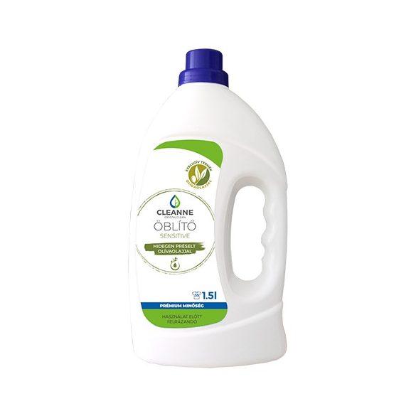 CLEANNE vegán SENSITIVE olivaolaj alapú öblítő 1,5 liter