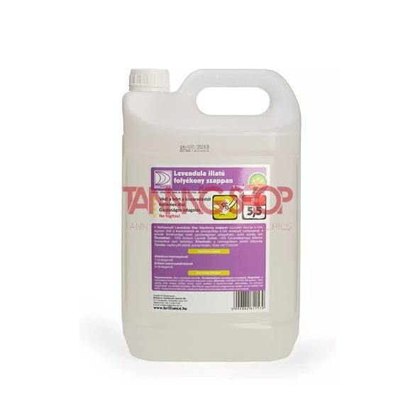 Brilliance levendula illatú folyékony szappan 5000 ml