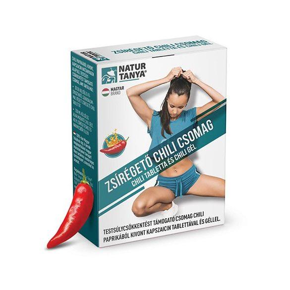 Natur Tanya zsírégető csomag - Chili tabletta és Chili gél