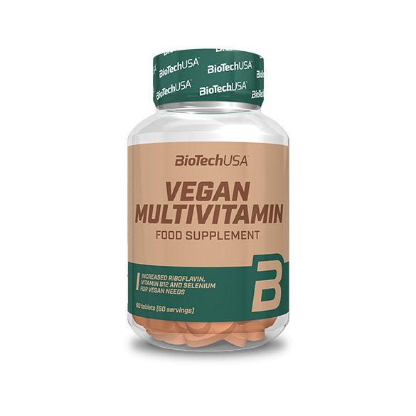 BioTechUSA Vegan Multivitamin 60 db tabletta
