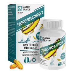 Natur Tanya Mega Omega-3 vadvízi halolaj 60 tabletta