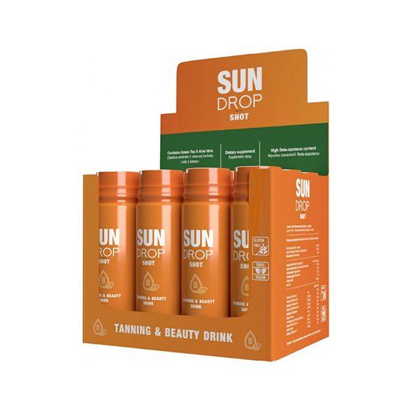 Sun Drop SHOT szolárium és szépségital 80 ml [karton - 12 db]