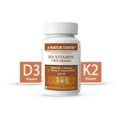 Natur Tanya D3 és K2-VITAMIN EGYÜTT 100 db tabletta