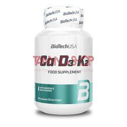 BioTechUSA Ca D3 K2 - 90 tabletta