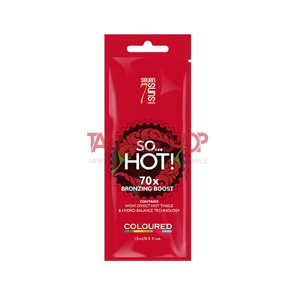 7suns SO… HOT! 15 ml [70X bronzing boost]