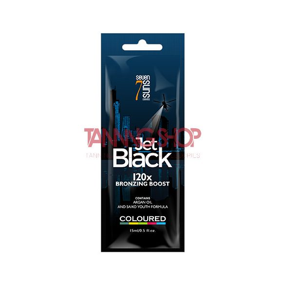 7suns Jet Black 15 ml [120X bronzing boost]