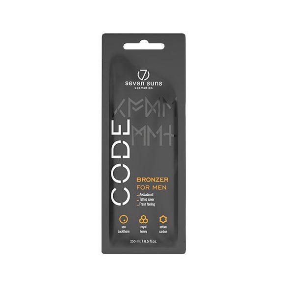 7suns CODE Bronzer for Men 15 ml [tattoo saver]