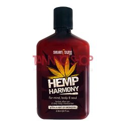 7suns Hemp Harmony Body Lotion + Bronzers 236 ml
