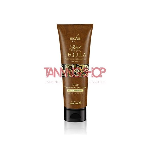 Art of Sun Tinted TEQUILA Deep Tanning Lotion + Bronzer 125 ml
