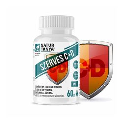 Natur Tanya szerves C+D vitamin 60 tabletta