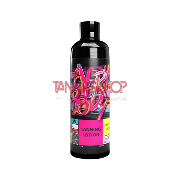 Any Tan EVERYBODY Tanning Lotion Gorgeous Brown 250 ml [400X]