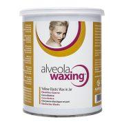 Alveola Waxing Elasztikus sárga konzervgyanta 800 ml