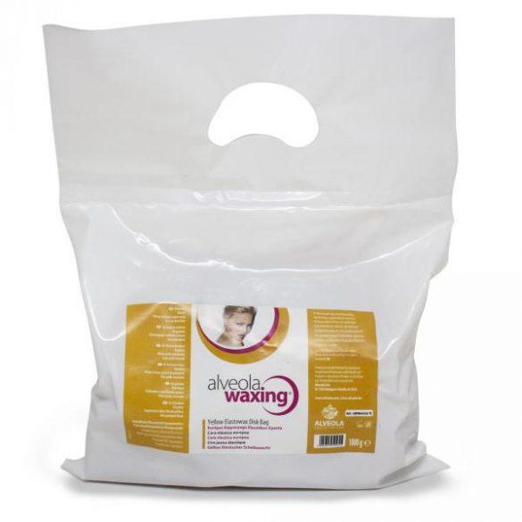 Alveola Waxing Sárga elasztikus korong gyanta zacskó 1000 g