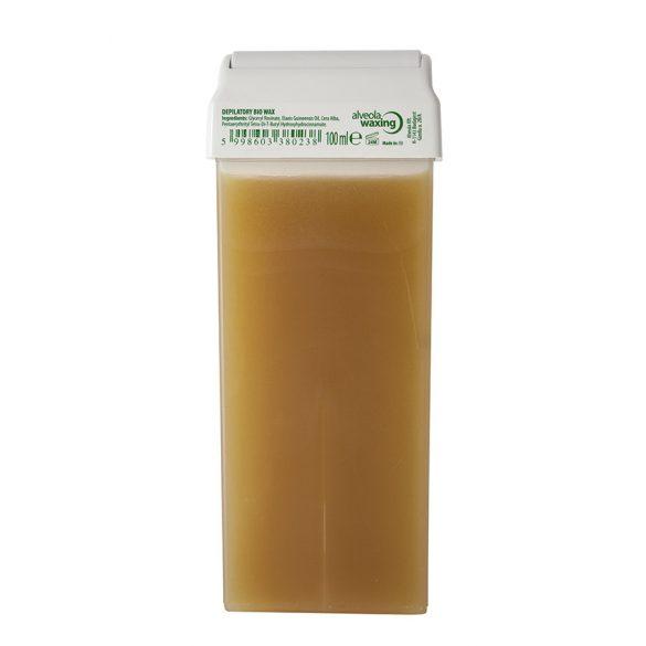 Alveola Waxing Bio sárga gyantapatron 100 ml széles fej [karton - 24 db]