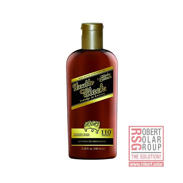 Body Butter Double Black Tanning Lotion 180 ml [110X]