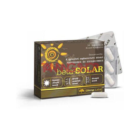 Olimp Labs beta-SOLAR 30 tabletta [világszabadalommal védett bőrvitamin]
