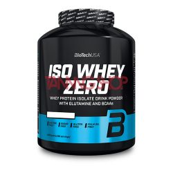 BioTechUSA Iso Whey Zero BANÁN prémium fehérje 2270 g
