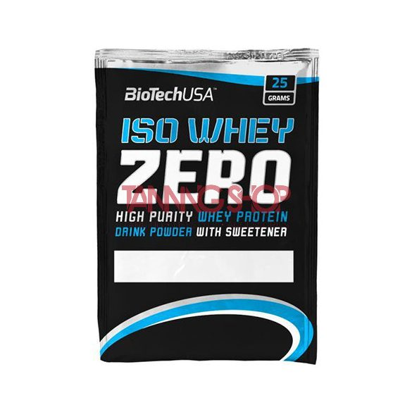 BioTechUSA Iso Whey Zero SÓS KARAMELL prémium fehérje 25 g
