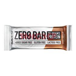 BioTechUSA Zero Bar fehérje szelet DUPLA CSOKOLÁDÉ 50 g