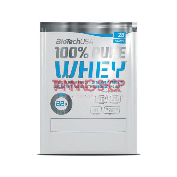BioTechUSA 100% Pure Whey MÁLNÁS SAJTTORTA 28 g