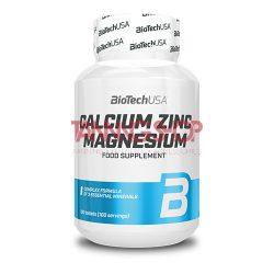 BioTechUSA Calcium Zinc Magnesium - 100 tabletta