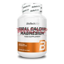 BioTechUSA Coral Calcium - magnesium - 100 tabletta