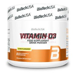 BioTechUSA Vitamin D3 italpor 150 g