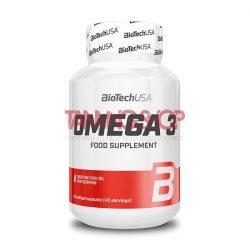 BioTechUSA Mega Omega 3 - 90 lágykapszula
