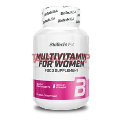 BioTechUSA Multivitamin for Women - 60 tabletta