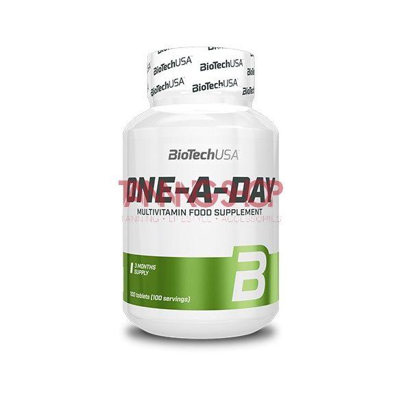 BioTechUSA One-A-Day multivitamin - 100 tabletta