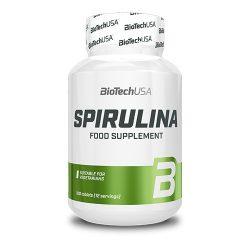 BioTechUSA Spirulina - 100 tabletta