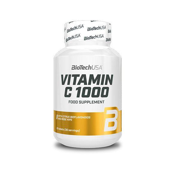 BioTechUSA Vitamin C 1000 Bioflavonoids - 30 tabletta