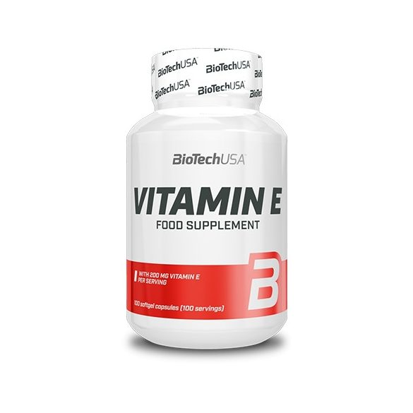 BioTechUSA  Vitamin E - 100 lágyzselatin kapszula