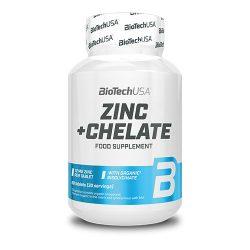 BioTechUSA  Zinc+Chelate - 60 tabletta