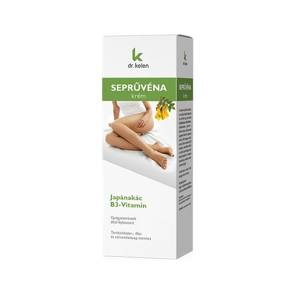 Dr. Kelen Seprűvénára krém 150 ml [B3 vitaminnal]