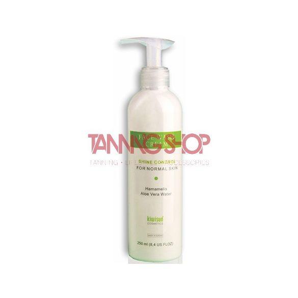 KiwiSun Face Wash Cream 250 ml [szoláriumozás előtti speciális arclemosó tej]