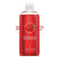 KiwiSun Strawberry Bath & Shower Gel 500 ml [gél tusfürdő]